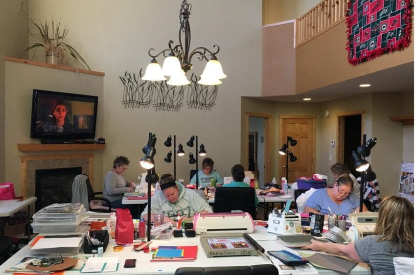 Scrapbooking Retreats In Minnesota Canary Beach Resort