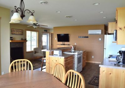 Three Bedroom Cabin Kitchen Canary Beach Resort MN