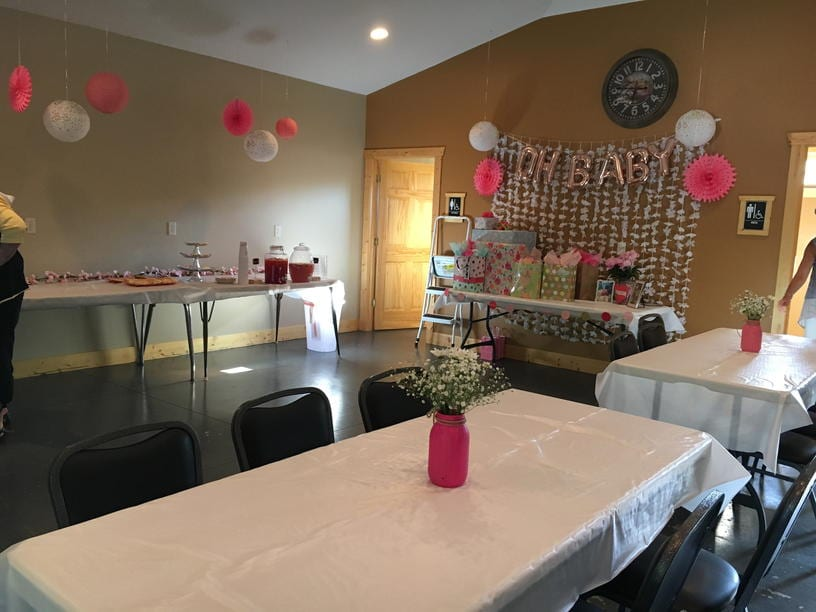 Baby Shower Party Venue Alexandria MN
