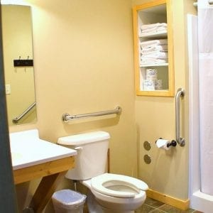 Two Bedroom Cabin Bath Canary Beach Resort Minnesota