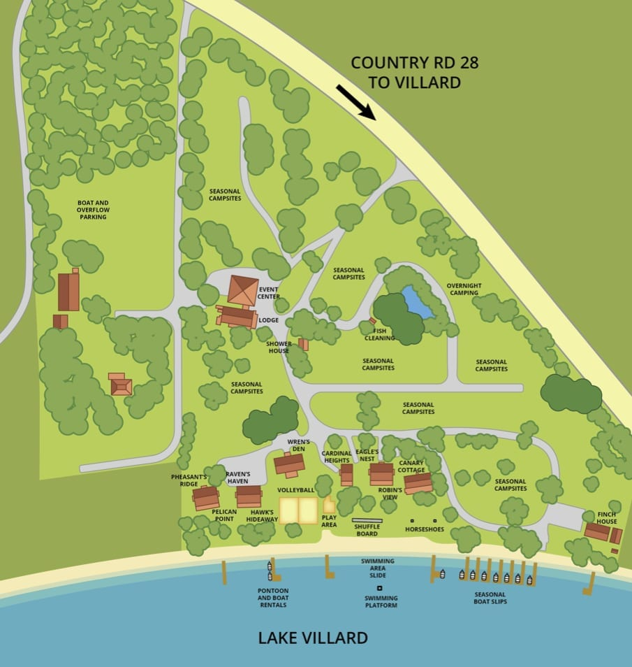 Canary Beach Map