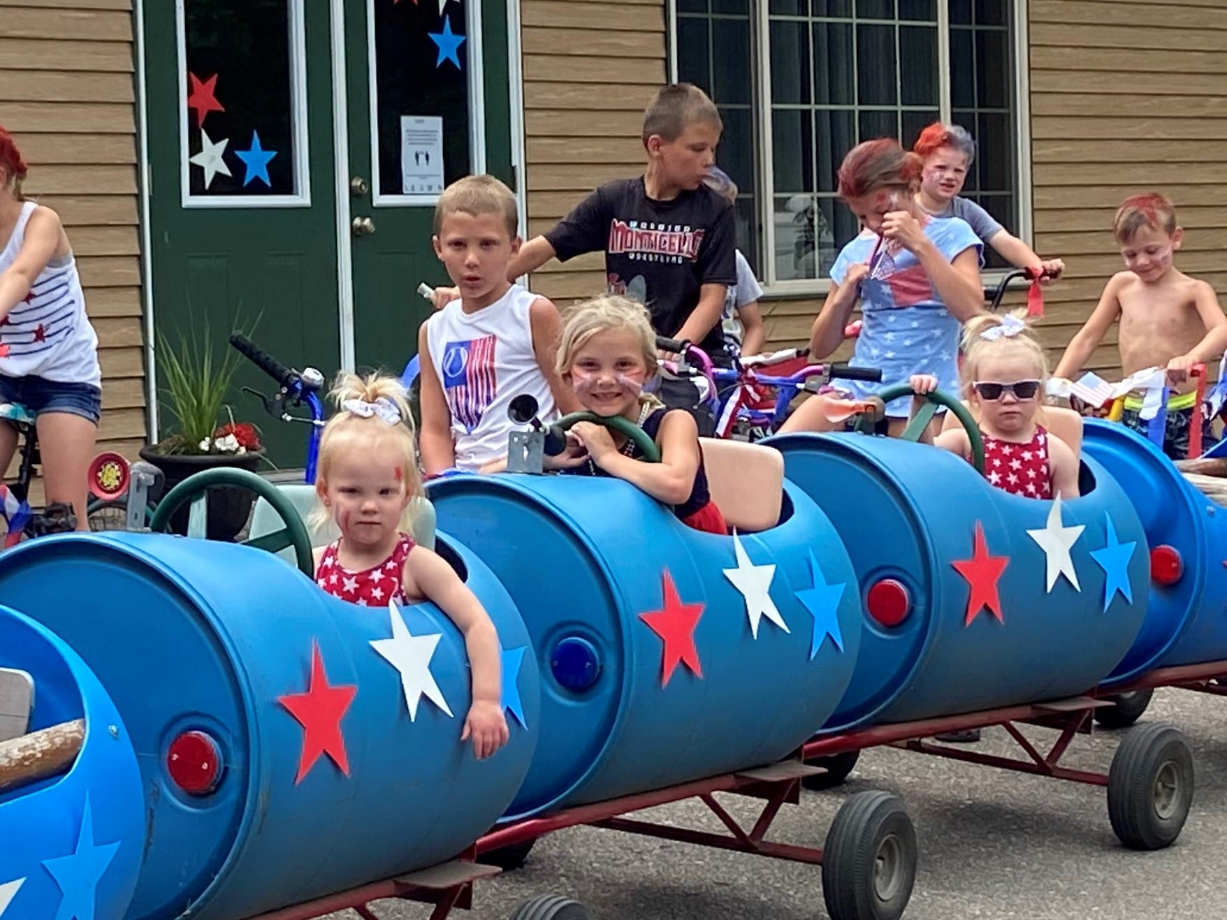 barrel train 4th of july